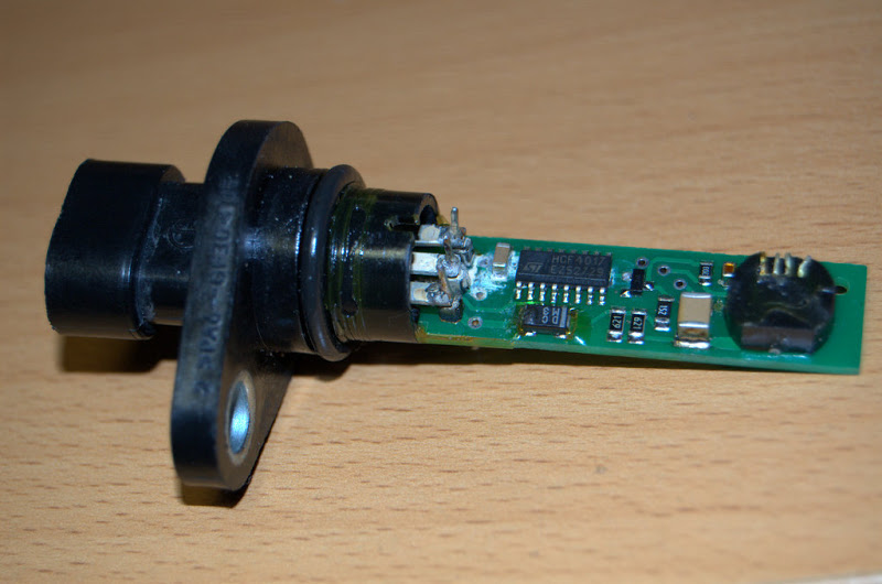 Начинка электронного датчика скорости