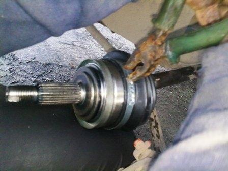 Снятие хомутов с чехлов гранаты