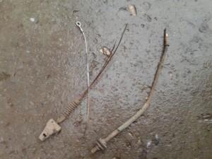 Закисший трос сцепления